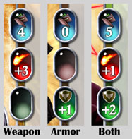 Weapons vs. Armor
